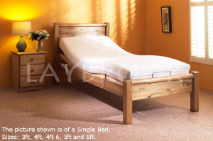 Hesticombe Adjustable Bed